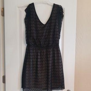 Black dress large
